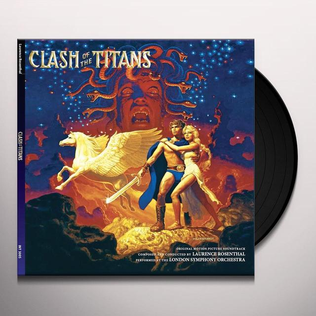 Laurence Rosenthal CLASH OF THE TITANS / O.S.T. Vinyl Record - Gatefold Sleeve, 180 Gram Pressing, Deluxe Edition