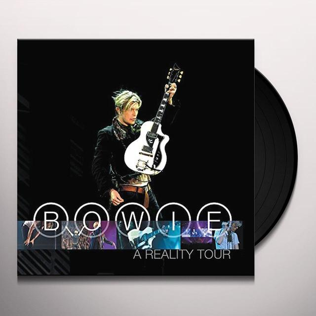 David Bowie REALITY TOUR Vinyl Record - Limited Edition, 180 Gram Pressing