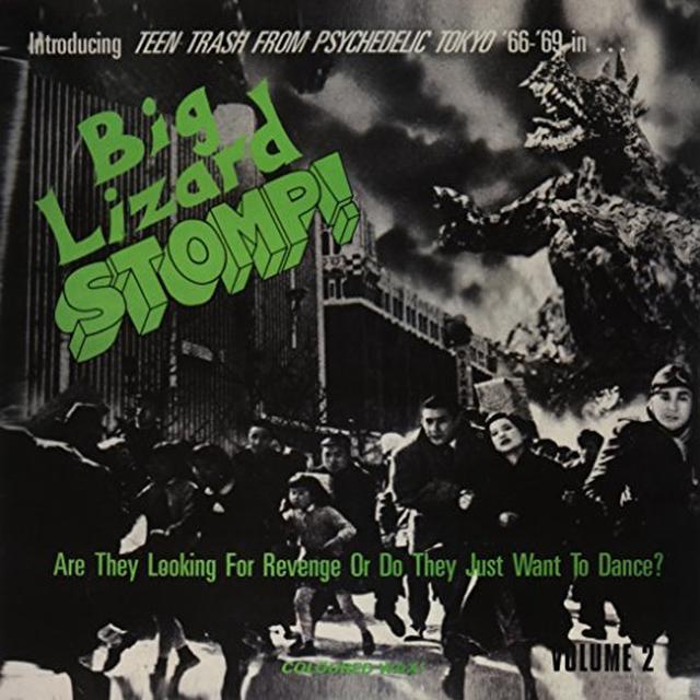 BIG LIZARD STOMP 2: TEEN TRASH PSYCHEDELIC / VAR Vinyl Record