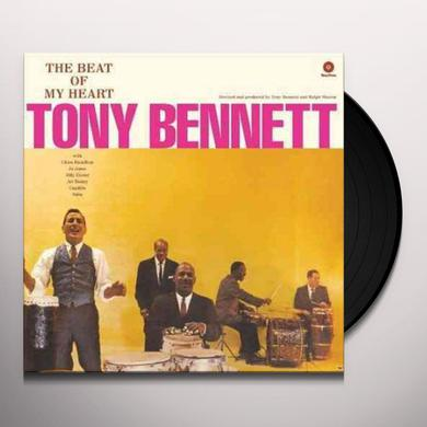 Tony Bennett BEAT OF MY HEART Vinyl Record