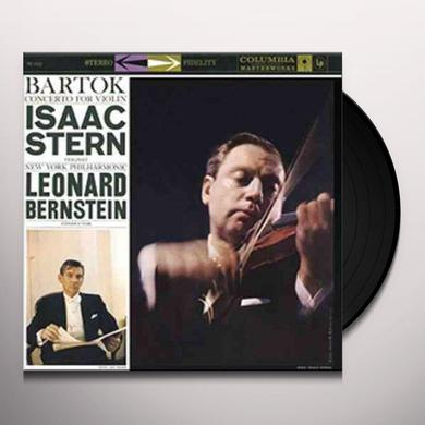 Isaac Stern BARTOK - CONCERTO FOR VIOLIN Vinyl Record