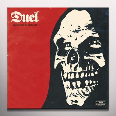 Duel FEARS OF THE DEAD Vinyl Record - Colored Vinyl, Limited Edition, Red Vinyl