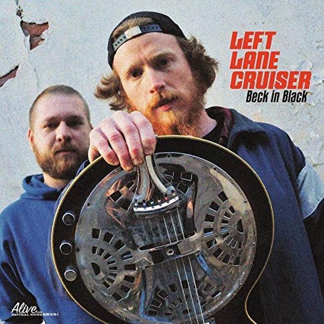 Left Lane Cruiser BECK IN BLACK Vinyl Record - Colored Vinyl