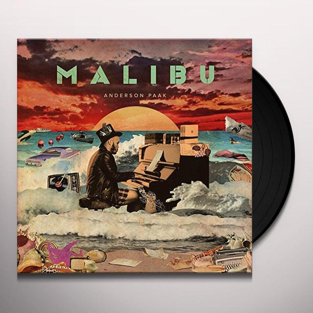 Anderson .Paak Malibu LP - Limited Edition w/ Fold-Out Poster (Vinyl)
