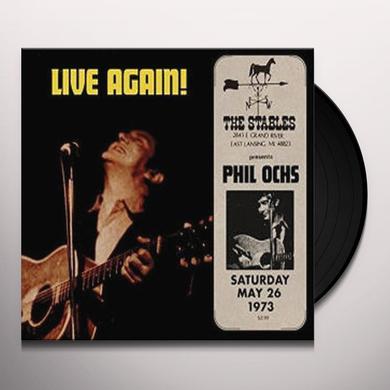 Phil Ochs LIVE LANSING MICHIGAN Vinyl Record