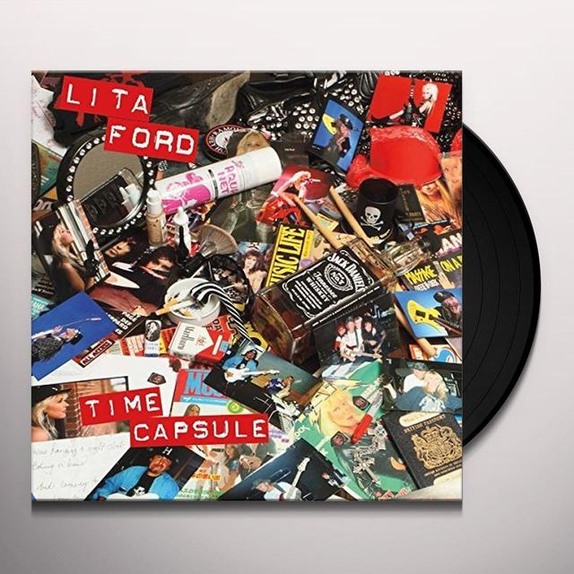 Lita Ford TIME CAPSULE Vinyl Record