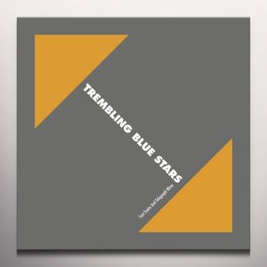 Trembling Blue Stars FAST TRAINS & TELEGRAPH WIRES   (WSV) Vinyl Record - Limited Edition, Orange Vinyl