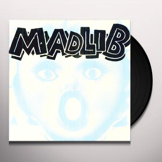 Madlib MEDICINE SHOW 12 (RAW MEDICINE) / 13 (BLACK TAPE) Vinyl Record