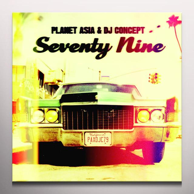 PLANET ASIA / DJ CONCEPT SEVENTY NINE Vinyl Record
