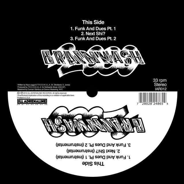 BRAINWASH 2000 FUNK & DUES / NEXT SHIT Vinyl Record