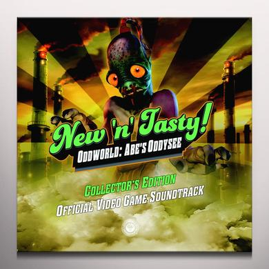Michael Bross ODDWORLD: NEW N TASTY / O.S.T. Vinyl Record - Green Vinyl