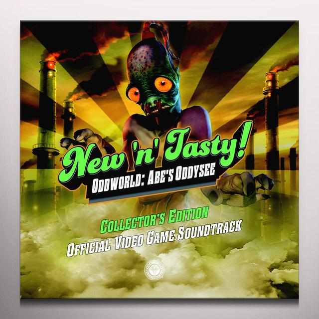Michael Bross ODDWORLD: NEW N TASTY / O.S.T. Vinyl Record