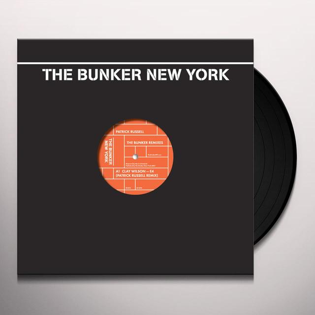 Patrick Russell BUNKER REMIXES Vinyl Record