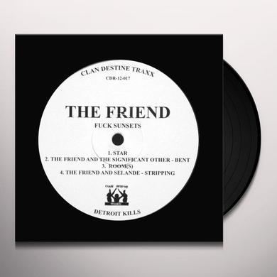 FRIEND/L/F/D/M FUCK SUNSETS / BALEARIC FISTING Vinyl Record