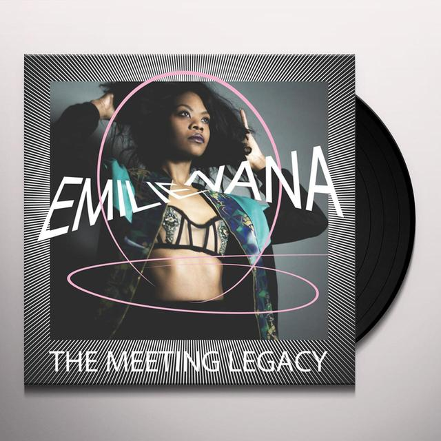 Emilie Nana MEETING LEGACY Vinyl Record - w/CD