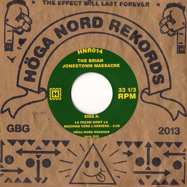 The Brian Jonestown Massacre LA FAGON DONT LA MACHINE VERS L'ARRIERE Vinyl Record