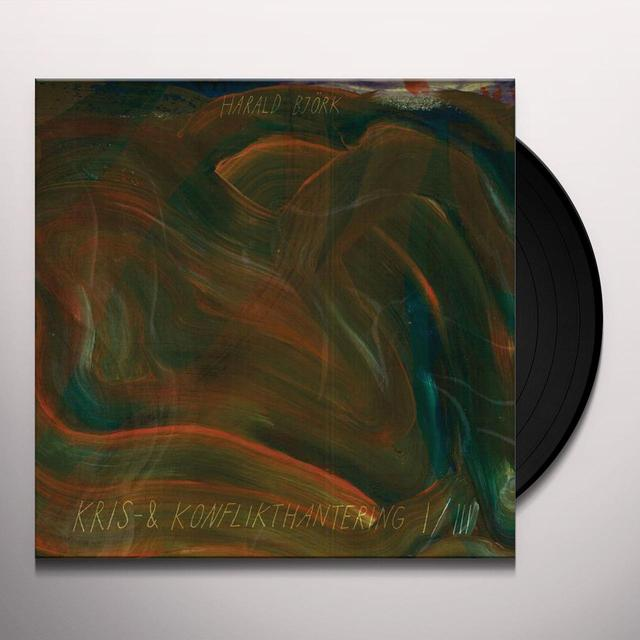 Harald Bjork KRIS & KONFLIKTHANTERING I/III Vinyl Record