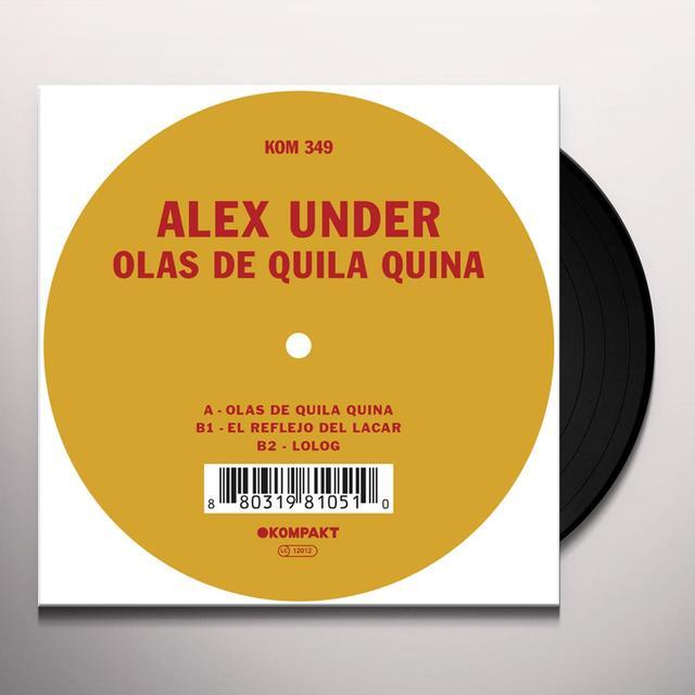 Alex Under OLAS DE QUILA QUINA Vinyl Record