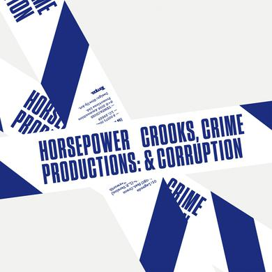 Horsepower Productions CROOKS CRIME & CORRUPTION Vinyl Record