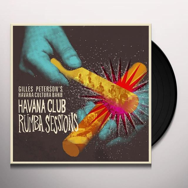 Gilles Presents Havana Cultura Peterson HAVANA CLUB RUMBA SESSIONS PART 4 Vinyl Record