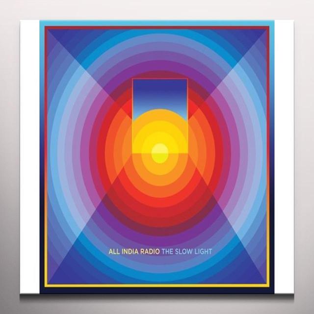 All India Radio SLOW LIGHT Vinyl Record - w/CD, Colored Vinyl, 180 Gram Pressing, Digital Download Included