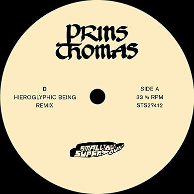 Prins Thomas HIEROGLYPHIC BEING REMIXES Vinyl Record