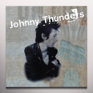 Johnny Thunders CRITICS CHOICE / SO ALONE Vinyl Record - 10 Inch Single, Colored Vinyl
