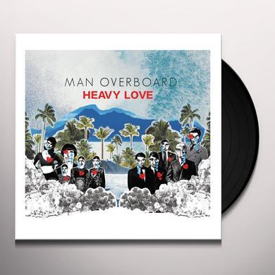Man Overboard HEAVY LOVE Vinyl Record
