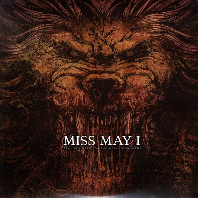 Miss May I APOLOGIES ARE FOR THE WEAK + MONUMENT Vinyl Record