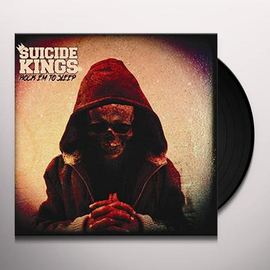 SUICIDE KINGS ROCK EM TO SLEEP Vinyl Record