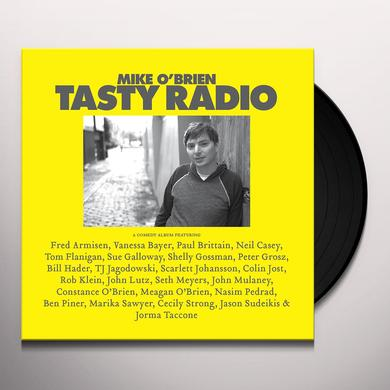 Mike O'Brien TASTY RADIO Vinyl Record - Digital Download Included