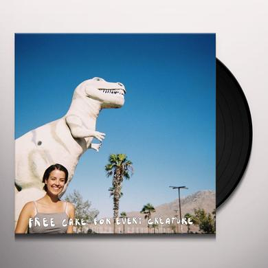 free cake for every creature TALKING QUIETLY OF ANYTHING WITH YOU Vinyl Record