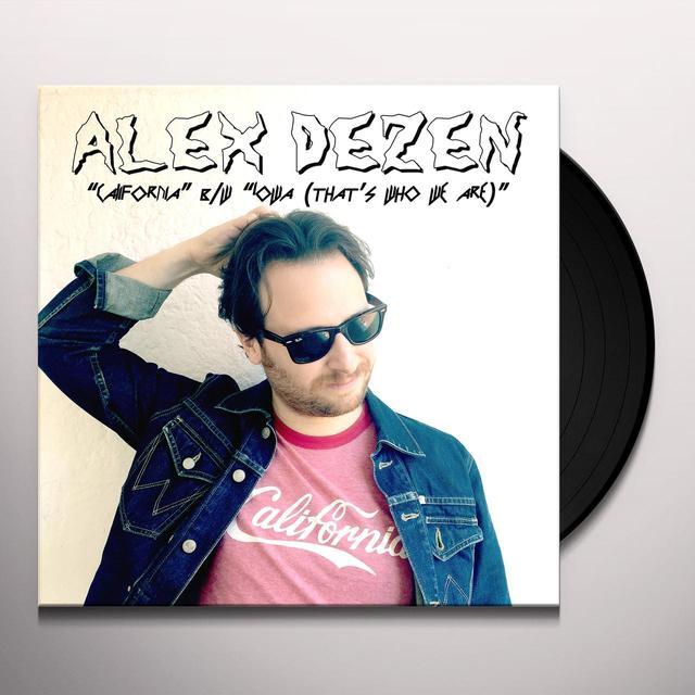 Alex Dezen CALIFORNIA / IOWA Vinyl Record