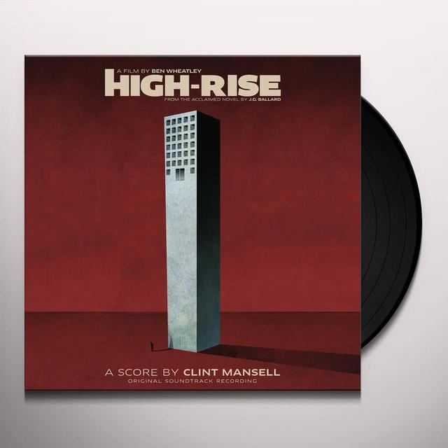 Clint Mansell HIGH-RISE / O.S.T. Vinyl Record - Black Vinyl, Gatefold Sleeve, 180 Gram Pressing