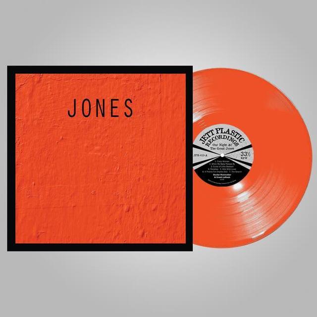Dex Romweber / Crash Laresh OUR NIGHT AT THE GREAT JONES: LIVE AT BLACKBEARD'S Vinyl Record