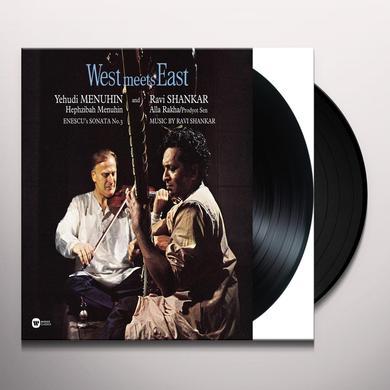 Yehudi Menuhin / Ravi Shankar / Hephzibah Menuhin WEST MEETS EAST Vinyl Record
