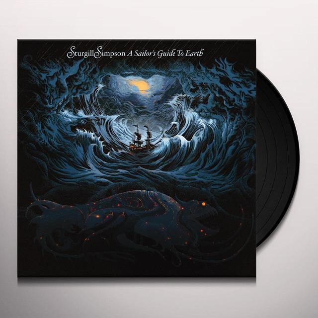 Sturgill Simpson SAILOR'S GUIDE TO EARTH (BONUS CD) Vinyl Record - 180 Gram Pressing