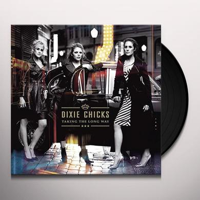 Dixie Chicks TAKING THE LONG WAY Vinyl Record - Gatefold Sleeve