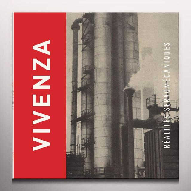 Vivenza REALITES SERVOMECANIQUES Vinyl Record - Colored Vinyl, Red Vinyl