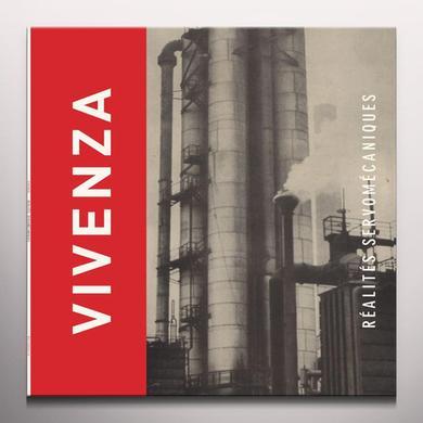 Vivenza REALITES SERVOMECANIQUES Vinyl Record - Colored Vinyl, Red Vinyl