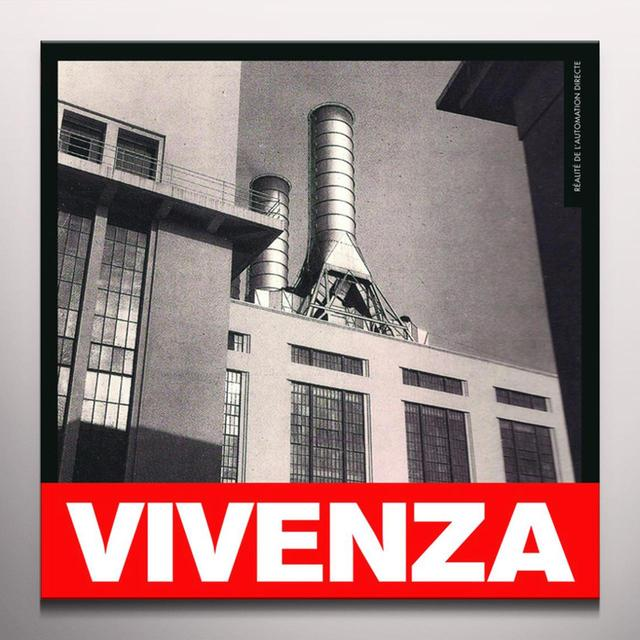 Vivenza REALITE DE L'AUTOMATION DIRECTE Vinyl Record - Colored Vinyl, Red Vinyl, 200 Gram Edition