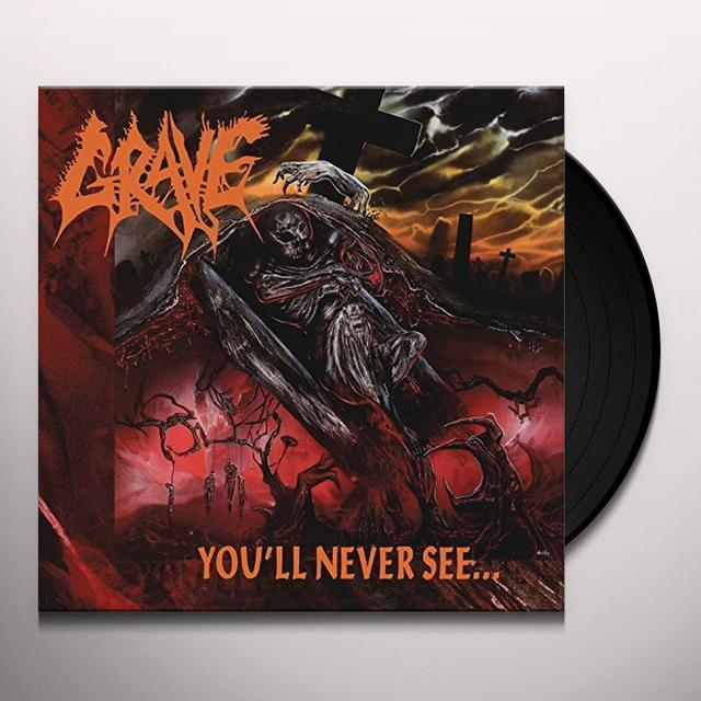 Grave YOU'LL NEVER SEE Vinyl Record - Remastered