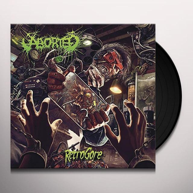Aborted RETROGORE Vinyl Record - Gatefold Sleeve