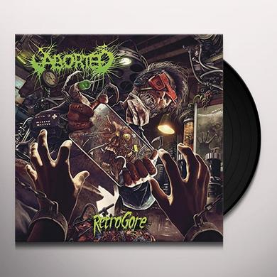 Aborted RETROGORE Vinyl Record - Gatefold Sleeve