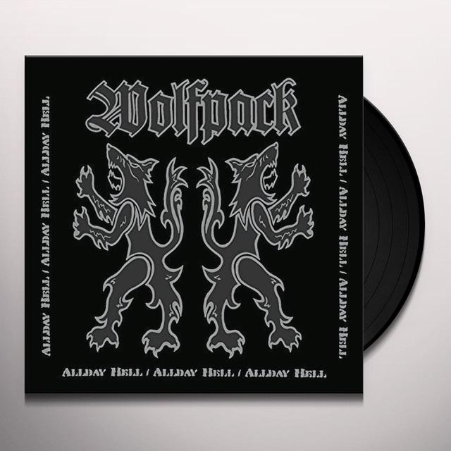 Wolfpack ALLDAY HELL Vinyl Record