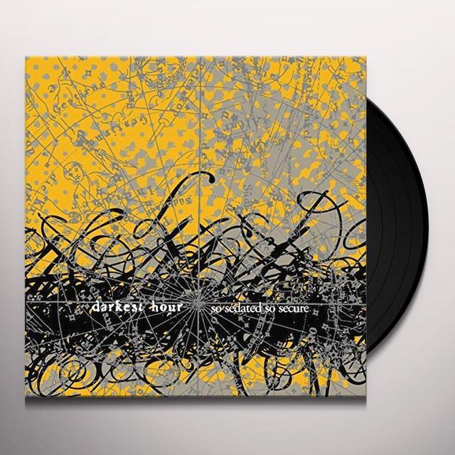 Darkest Hour SO SEDATED SO SECURE Vinyl Record