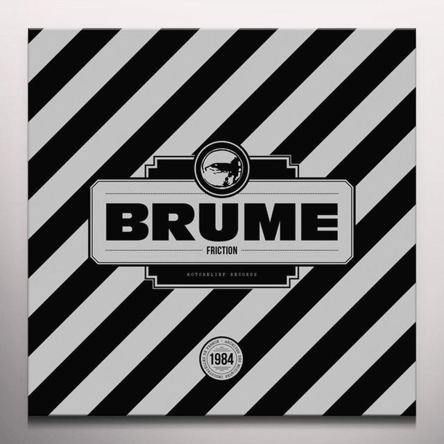 Brume FRICTION Vinyl Record - Colored Vinyl, Red Vinyl