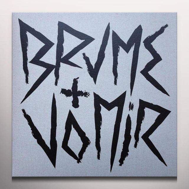 BRUME + VOMIR UNSTABLE Vinyl Record - Colored Vinyl, Red Vinyl