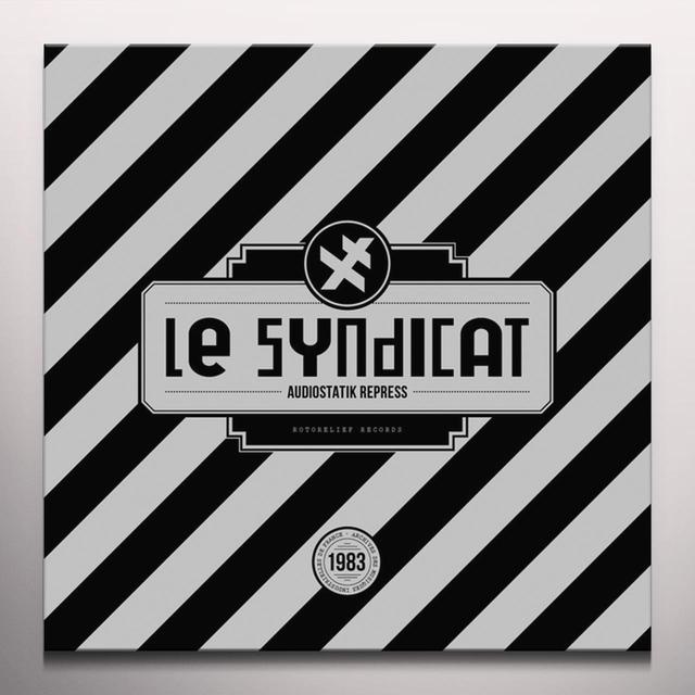 LE SYNDICAT AUDIOSTATIK REPRESS Vinyl Record - Colored Vinyl, Red Vinyl