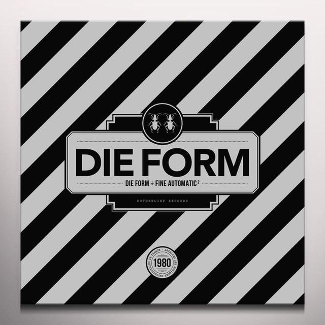 DIE FORM / FINE AUTOMATIC 2 Vinyl Record - Colored Vinyl, Red Vinyl
